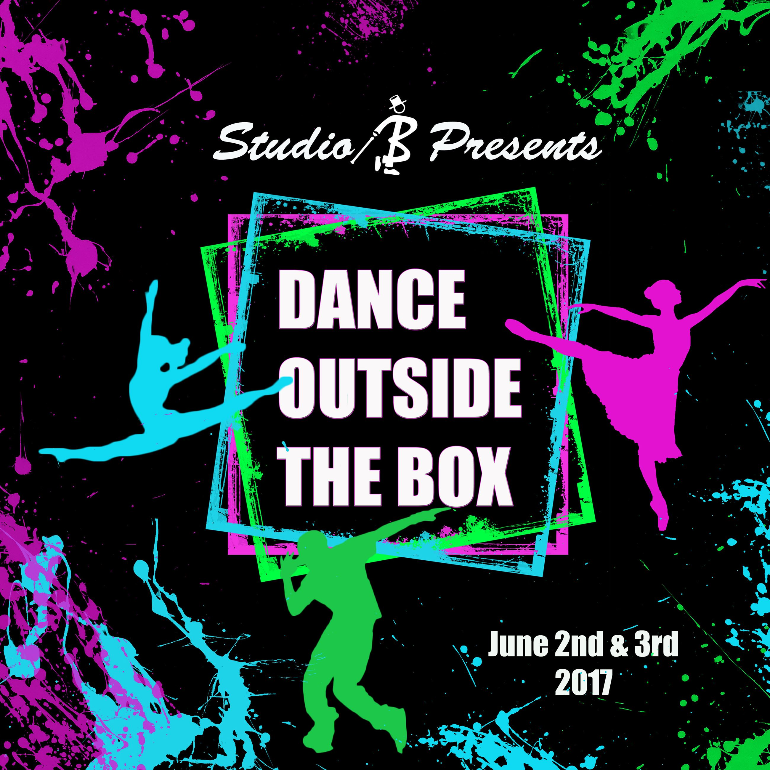 Dance outside the box TSHIRT