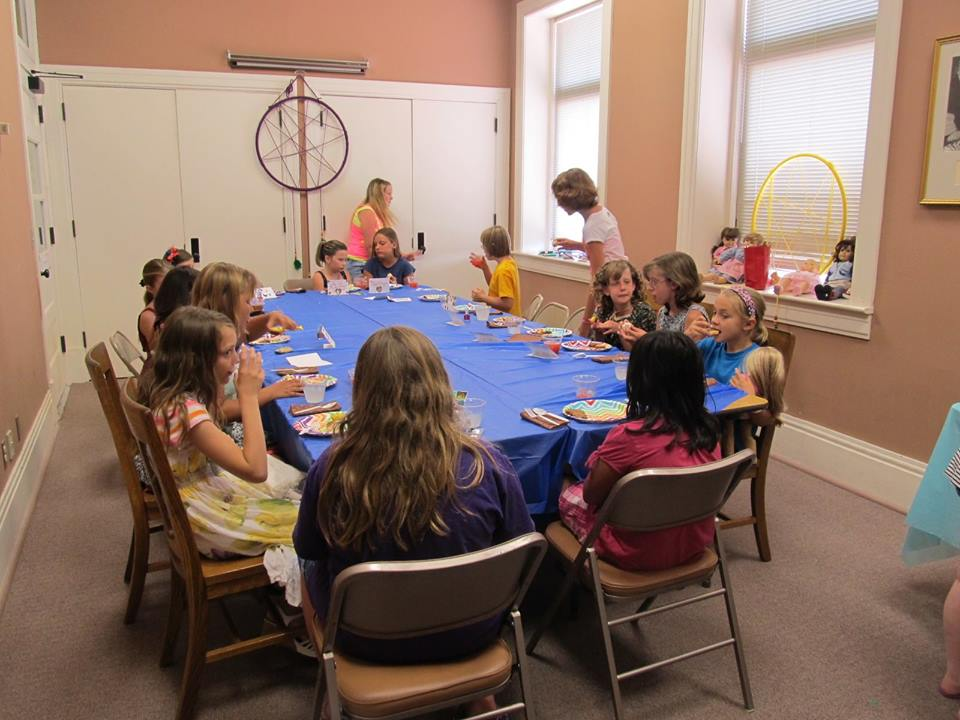 Chanute Library American Girl Tea Party
