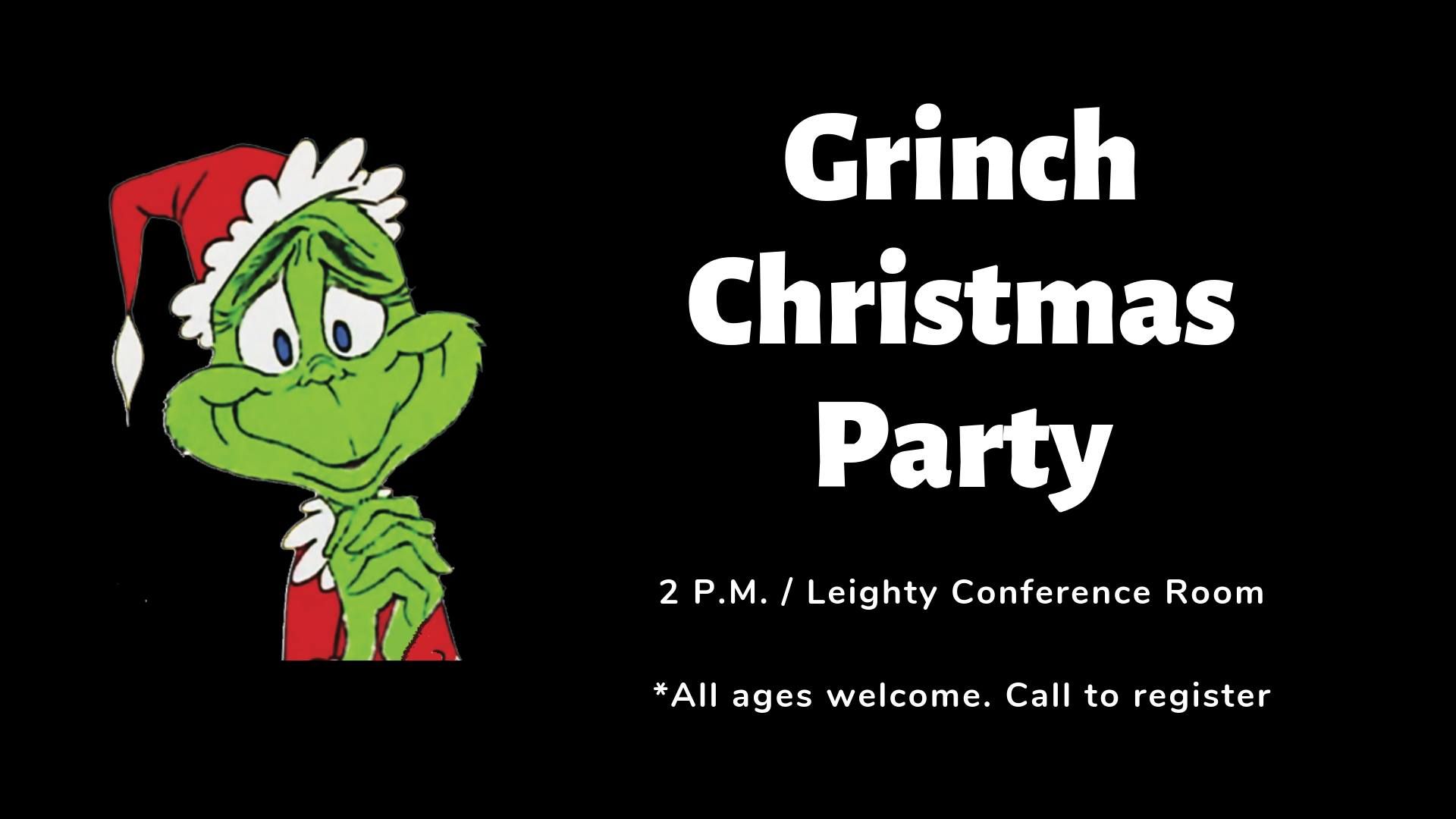 CPL Grinch Christmas Party